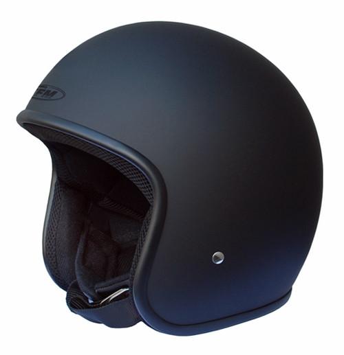 FFM Jetpro 2 Low Rider - Open Face Helmet - Matt Black