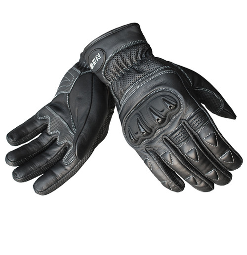 Dart Motorcycle Glove - Leather Sport/Urban, Black