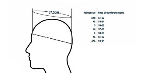 URBAN 3 Modular Helmet, Gloss White (XS 54cm) - CLOSEOUT SALE