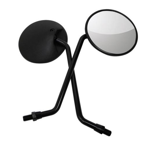 Mirror Black Round CT110 Style 10mm, Universal, 1xpc