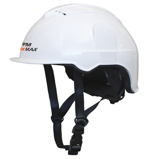 AgHat MAX - ATV Helmet (52-64cm), Multi Fit, Safety Standards, for Farming, Forestry, Arboriculture & Construction