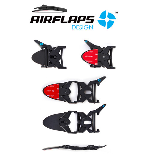 AirFlaps - AirFlaps Kit Black, Goggle Air Ventilation System - NEW!