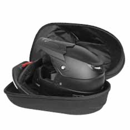 Ogio ATS Case in Stealth colourway has adjustable padding thickness which accommodates multiple helmet and neck brace types