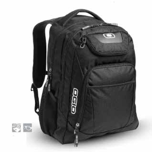 Ogio Excelsior Backpack has dual main compartments and an ultra-padded air mesh back, making the casual style pack an excellent choice for school or work