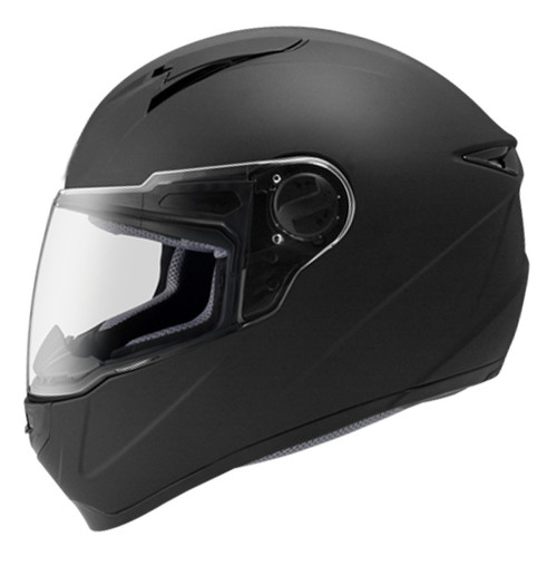 Matt Black Tourpro R Full face helmet