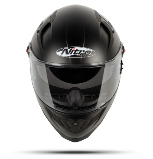 Nitro N2200 UNO DVS Motorcycle Helmet, Matt Black, RRP was $ 207.89 Clearance Sale!