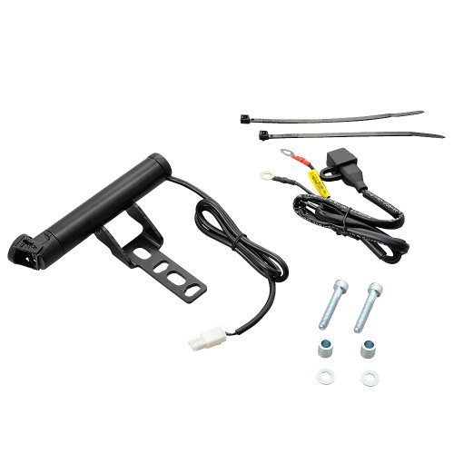 Mount Bar with USB Power Supply 5V 2.1A Master Cyclinder Clamp Type, Short 155 mm