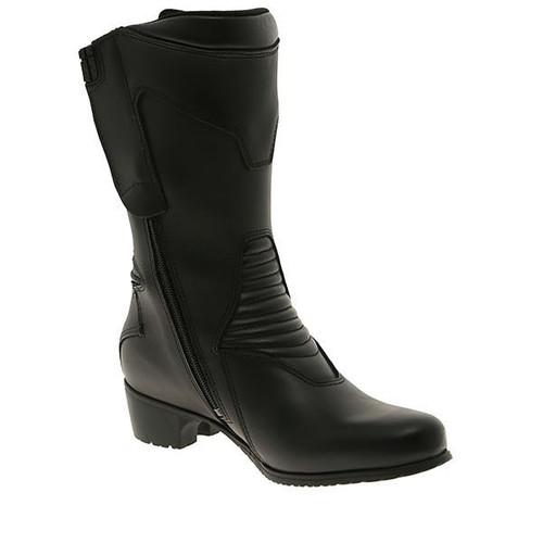 Forma Ruby Ladies Touring Motorcycle Boots, Black, Waterproof