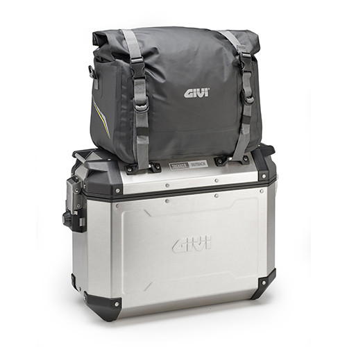 Givi EA120 15L Waterproof Cargo Bag, Soft Bag, Roll Top, with Internal Support