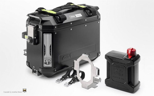 Givi Trekker Outback Jerry Can E148 Holder/Bracket only for Givi Jerry Can (2.5 Litre), Water, Oil, Fuel Container