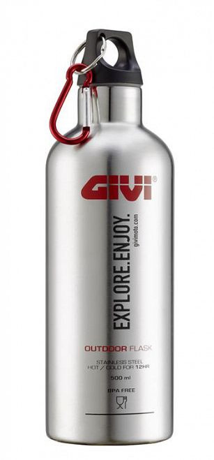 Givi Stainless Steel Bracket/Holder for STF500S Thermal Flask