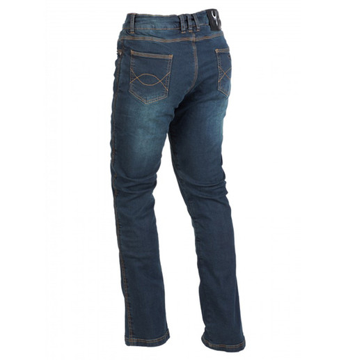 Bull-It SR6 Vintage Motorcycle Riding Jeans - LADIES, Long Leg Length - Clearance Sale!