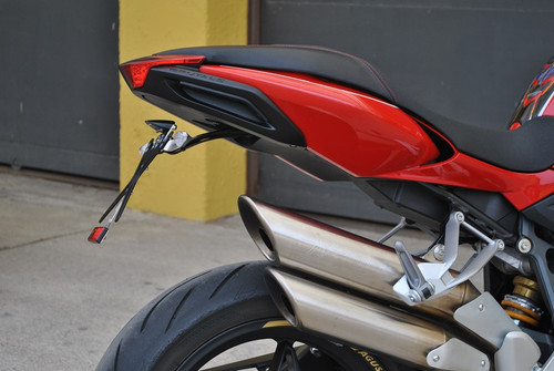 Melotti Racing MV Agusta Brutale, Number Plate Holder, Tail Tidy, CNC Machined Motorcycle, Black, Made in Italy