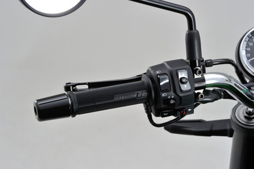 Daytona (Japan) Heated Grips, 4-Level, 12V for 22.2 mm (7/8 inch) Handlebar Open End