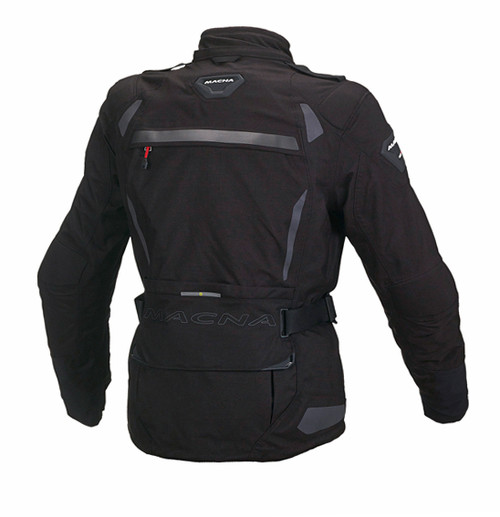 Macna Impact Pro Jacket - Women, Waterproof, Black Motorcycle Jacket - Ladies Touring