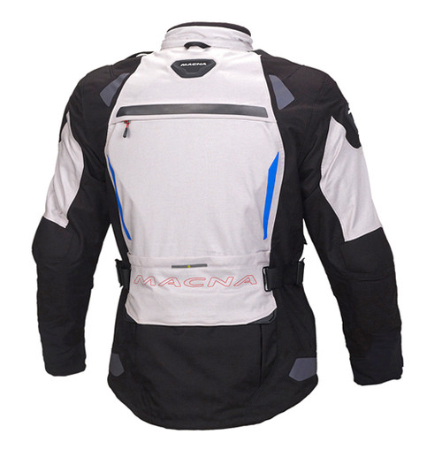 Macna Impact Pro Motorcycle Jacket - Men, Waterproof, Black/Light Grey - Touring