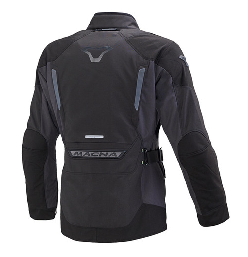 Macna Equator Motorcycle Jacket - Men, Waterproof, Black/Dark Grey - Touring