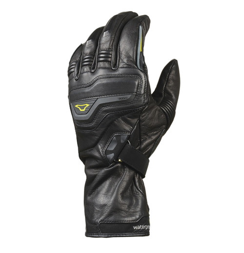 Macna Rapier Motorcycle Gloves - Men, Waterproof, Black