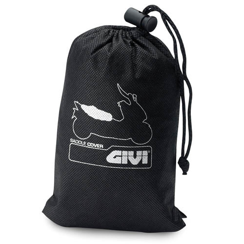 Givi GI S210 Motorcycle Seat Cover, Waterproof, Black