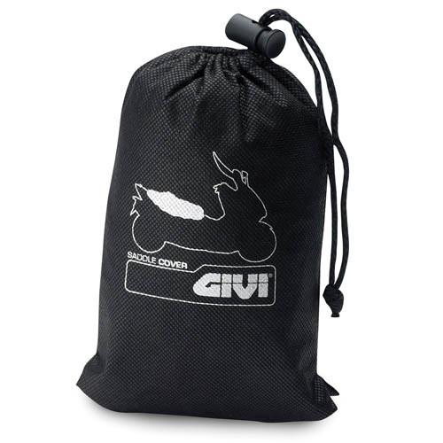 GI S210 Motorcycle Seat Cover, Waterproof, Black