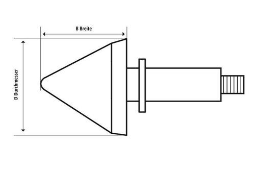 Shin Yo Motorcycle Handlebar Indicator Lights, Black, Amber Lens, ECE 202-267