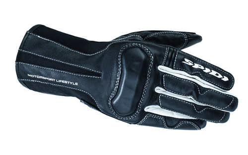 Spidi Charm Womens Leather Motorcycle Gloves, Black