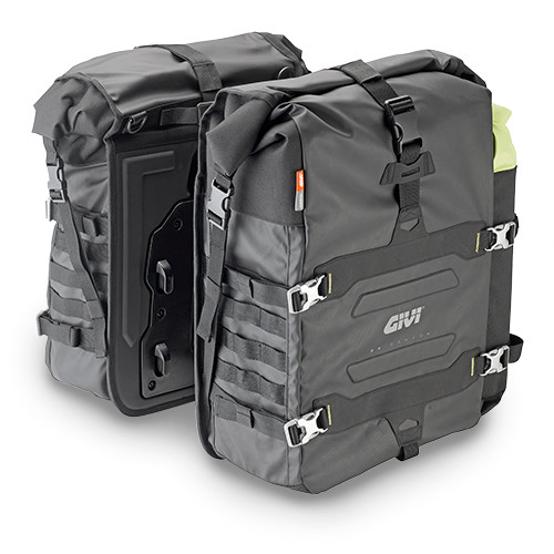 Motorcycle Pannier Bags with M.O.L.L.E System, Adventure Riding