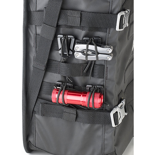 Givi GRT709 Motorcycle Pannier Bags with M.O.L.L.E System, Adventure Riding