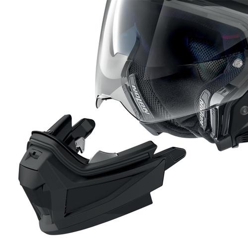 Nolan Motorcycle N70-2 X Grandes Alps Helmet, Adventure Helmet - Flat black / Grey