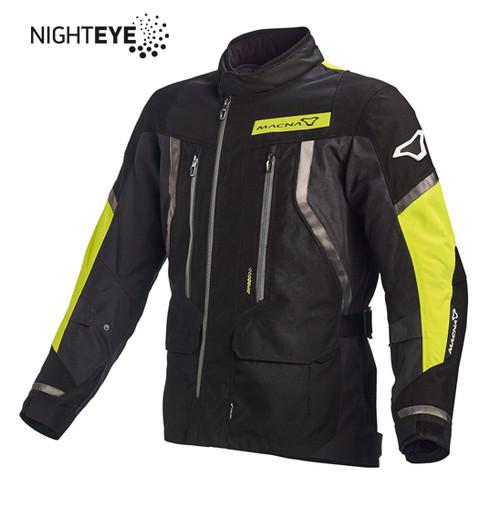 Black, Night Eye, Fluro yellow Jacket