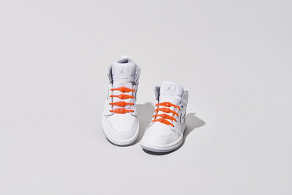 HICKIES Kids Laces - Solar Red