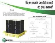 How much Spill Containment do you need?