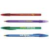 Custom Printed BIC ® Style™ Clear Pen