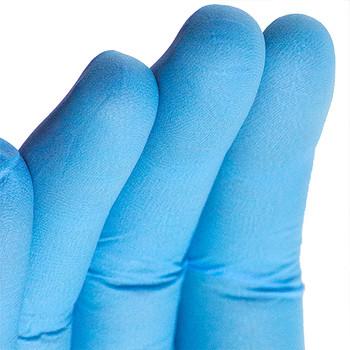 AMMEX Blue Nitrile Gloves