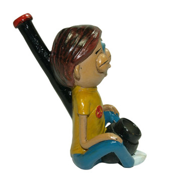 Third Eye Morty Clay Pipe