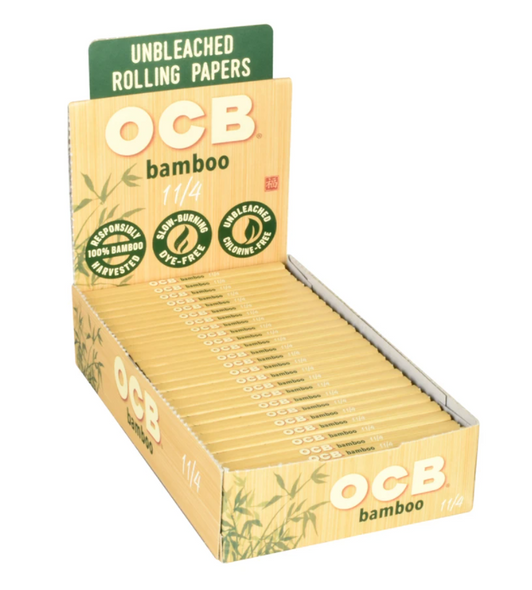 "OCB Bamboo 1 1/4"" Papers 24 ct."
