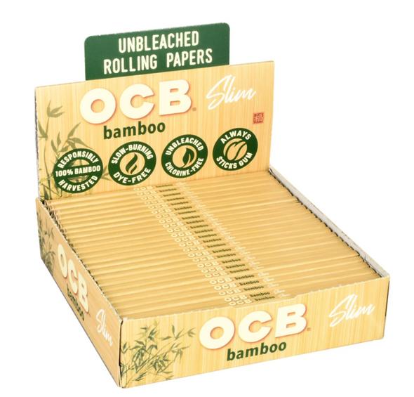 OCB Bamboo King Slim Papers 24 ct.