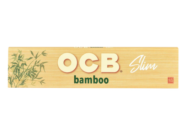 OCB Bamboo King Slim Papers 24 ct.