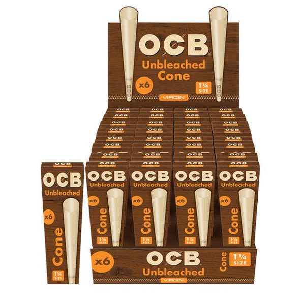 """OCB Virgin Cones 1 1/4"""" 192 ct."""
