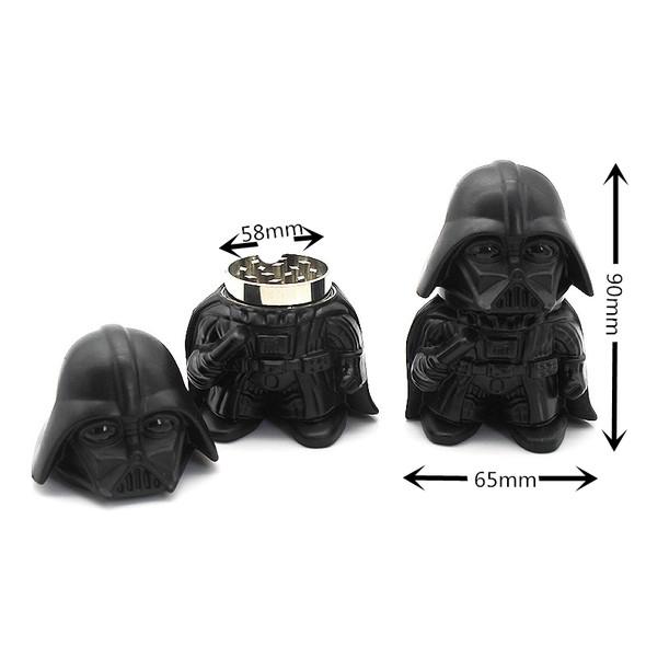 """58mm """"Darth Vader"""" Figure Three Piece Grinder"""