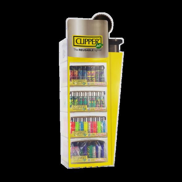 Clipper 4 Tier Plastic Display (Empty)