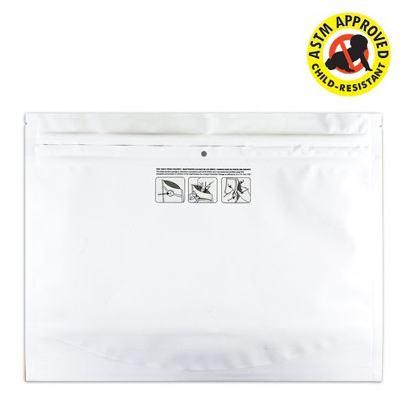"12"" x 9"" Child Resistant Exit Bags Pinch N Slide 100 ct."