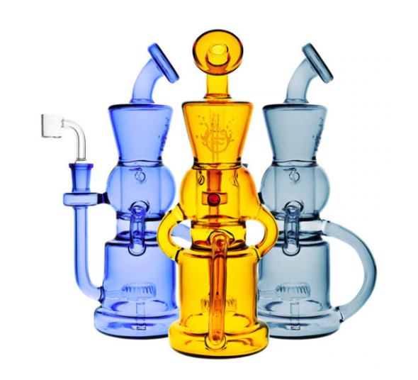 """Pulsar 10"""" Checkmate Recycler Oil Rig"""