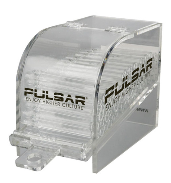 Pulsar 100pc Chillum Display - Clear Glass
