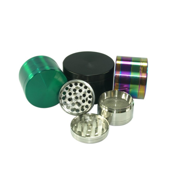 63mm Four Piece Zinc Grinder