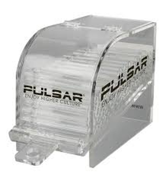Pulsar 100pc Chillum Refill Pack - Clear Glass