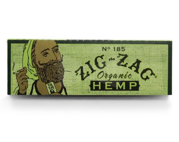 "Zig Zag Organic Hemp Rolling Papers 1¼"" Size - 48 ct."