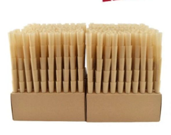 """RAW Classic Bulk Pre-Rolled Cones 1¼"""" Size - 1000 ct."""
