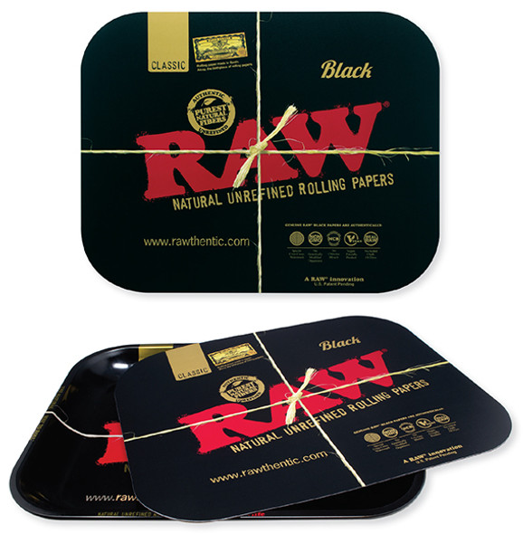 RAW Black Magnetic Tray Cover For Small