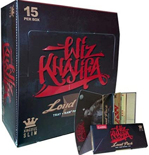 Wiz Khalifa Loud Pack Rolling Papers King Size - 15 ct.
